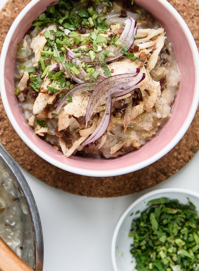 Rýžová kaše s masem